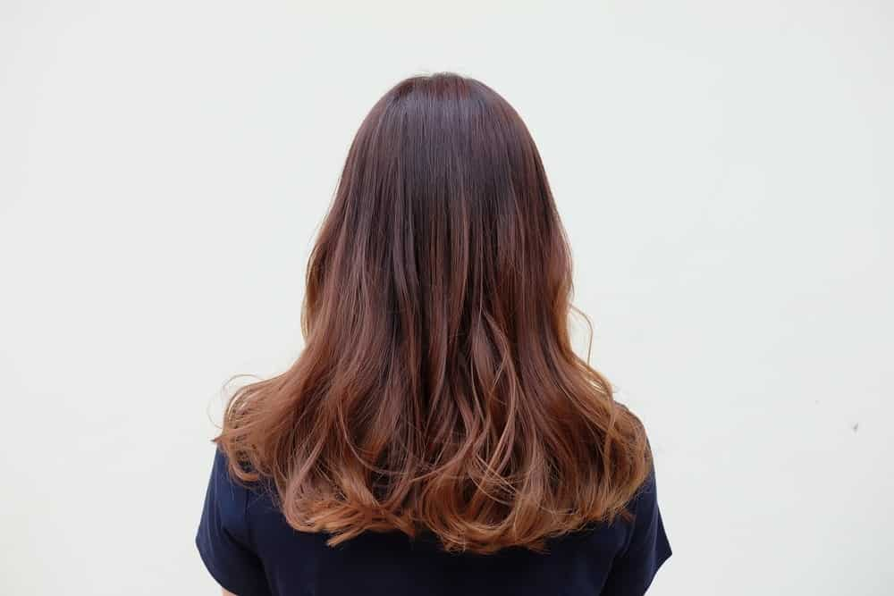 These are more subtle hair highlights where all the hair is a beautiful shade of chocolate brown with gorgeous low lights of a shade lighter than the rest of the hair.