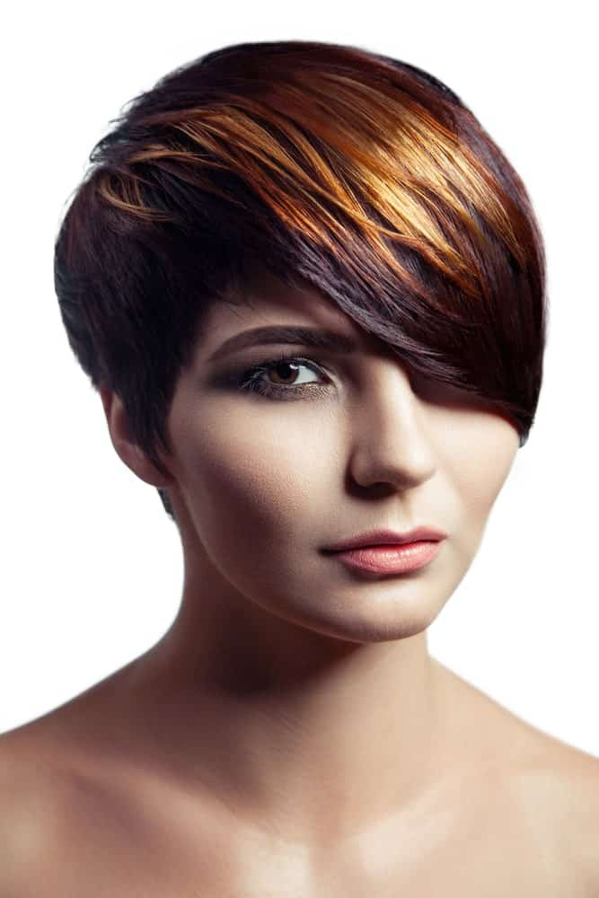 171 Short Hair with Highlights for Women (Photos)