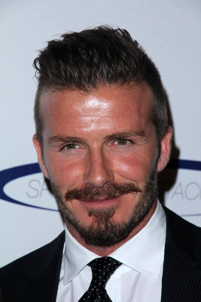 David Beckham has been a strong advocate of fade haircuts for a very long time. His long-on-top and short-at-sides haircut is one of the most commonly Googled men's haircuts for two obvious reasons. First, because he's David Beckham (duh!). And second, because it features just the right balance of short and shaved hair that looks well-groomed yet is stylish enough to make it magazine-worthy.