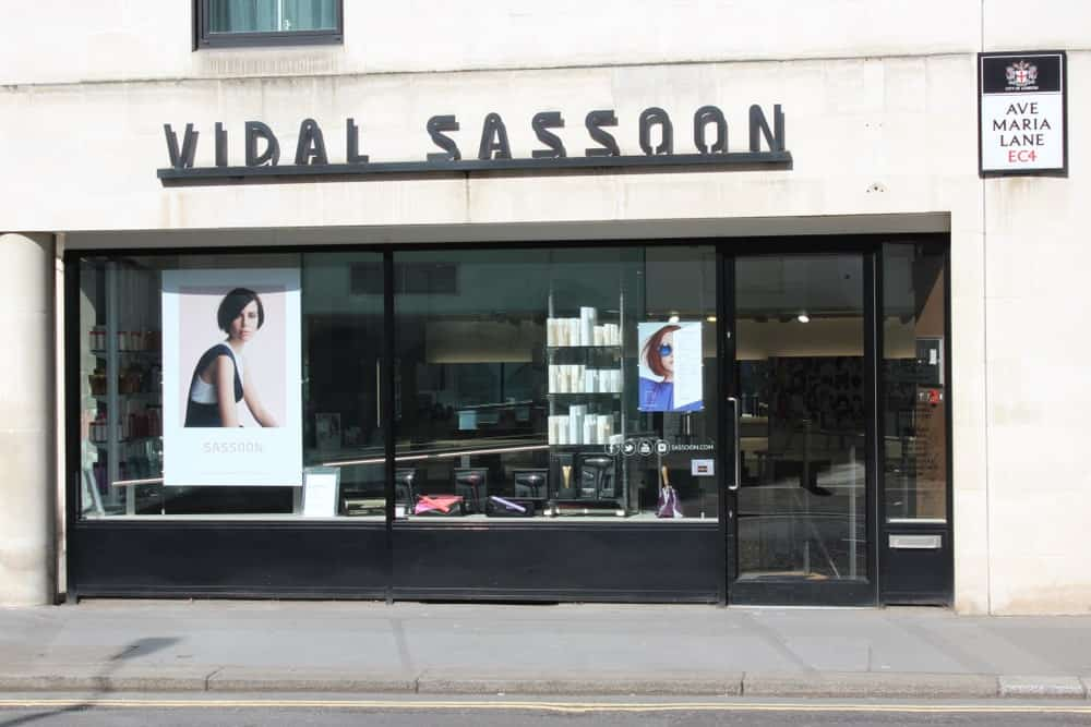 A Vidal Sassoon ship in London