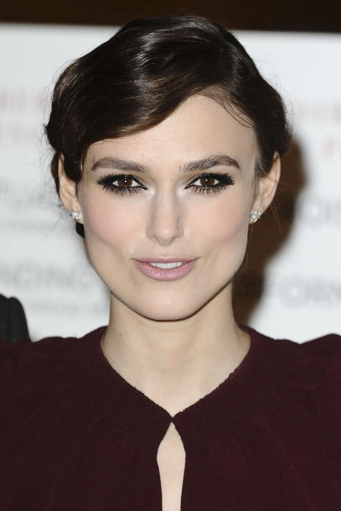 Keira Knightley attended the premiere of