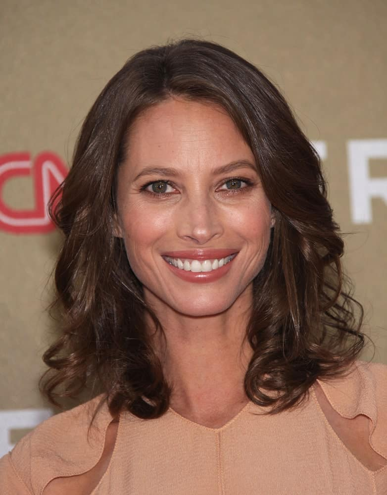 Christy Turlington Burns smiling