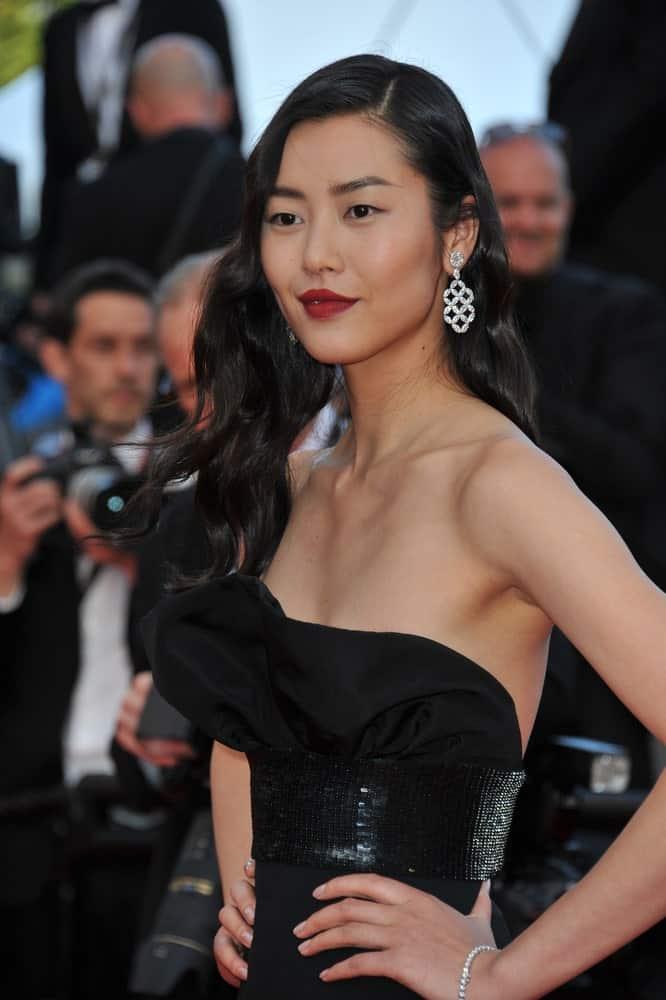Liu Wen posing