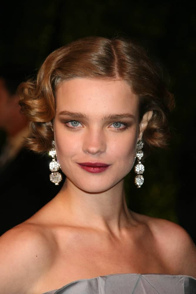 Sophisticated Natalia Vodianova