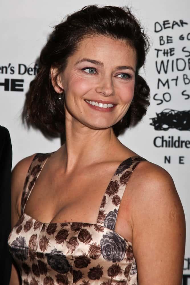 Paulina Porizkova smiling