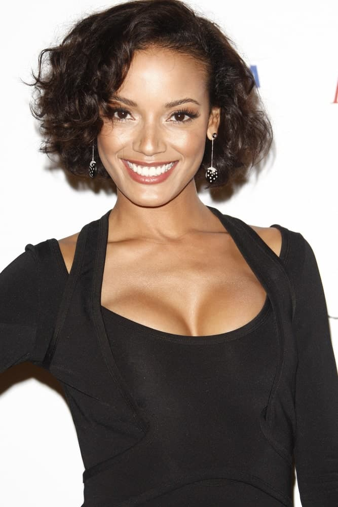Selita Ebanks smiling