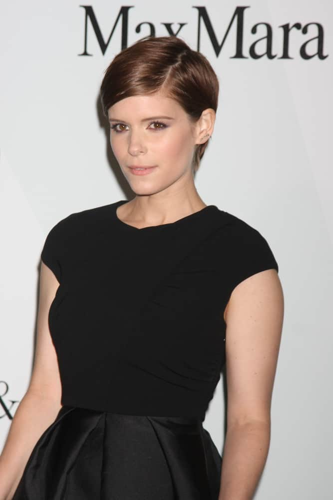21.Kate Mara with asymmetrical pixie cut