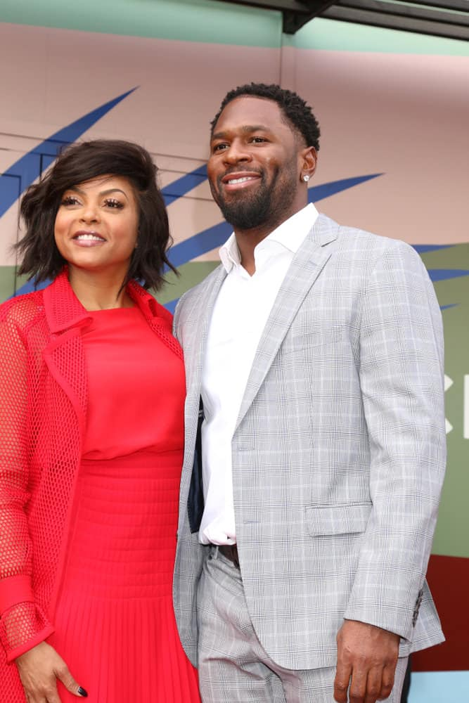 22.Taraji P Henson with textured bob