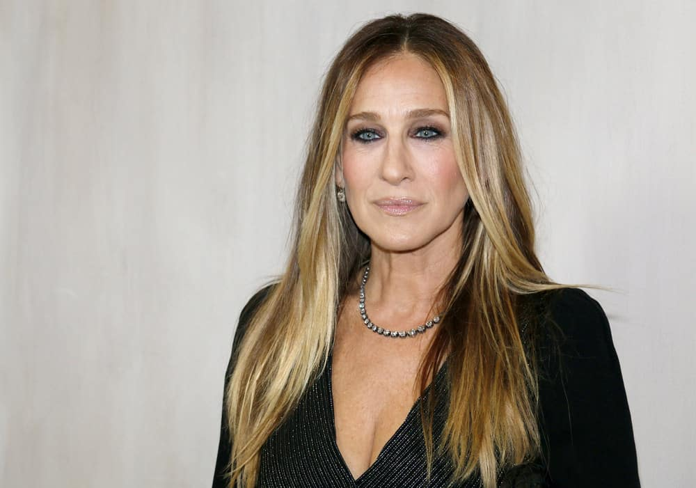 27.Sarah Jessica Parker with straight layers