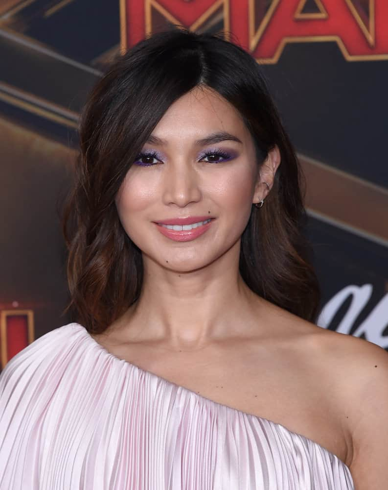 41.Gemma Chan with curls