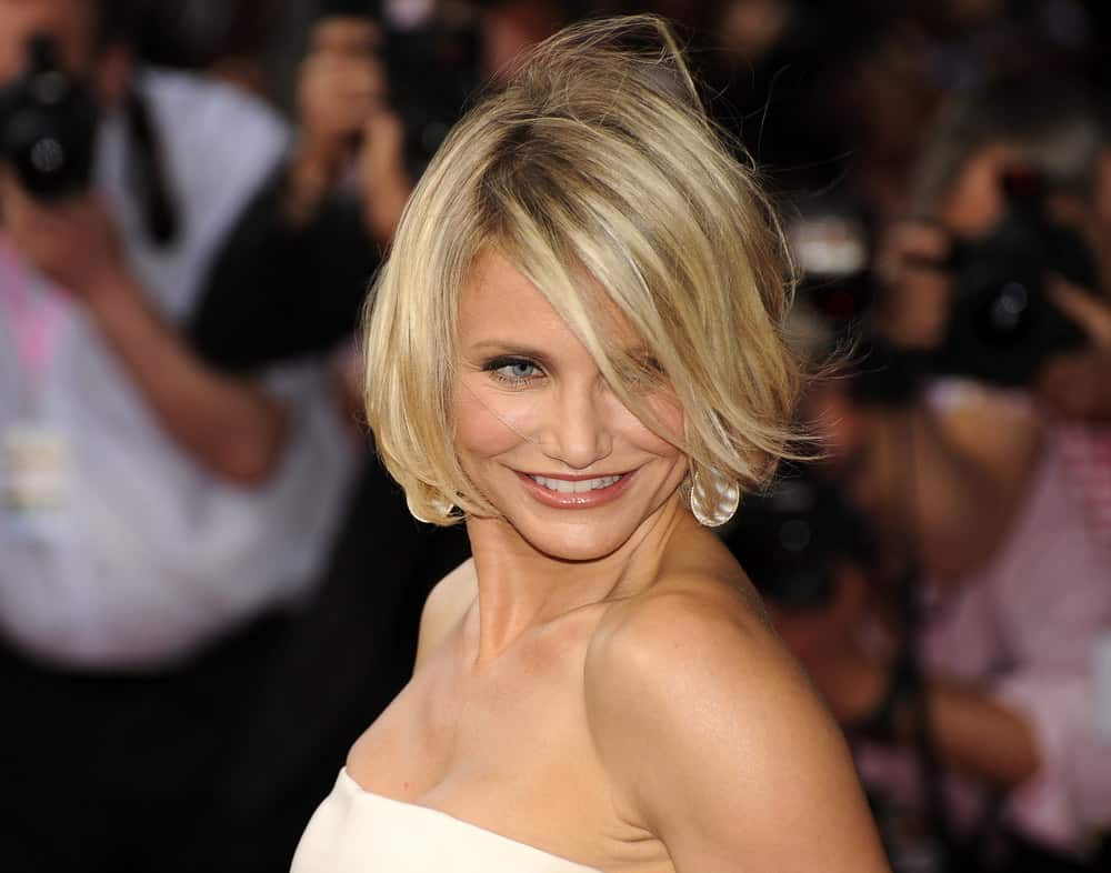 44.Cameron Diaz with hair flip
