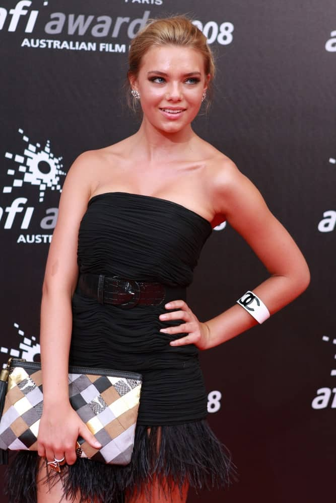 Indiana Evans in Melbourne