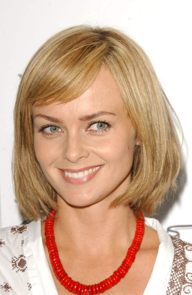Izabella Scorupco at a part