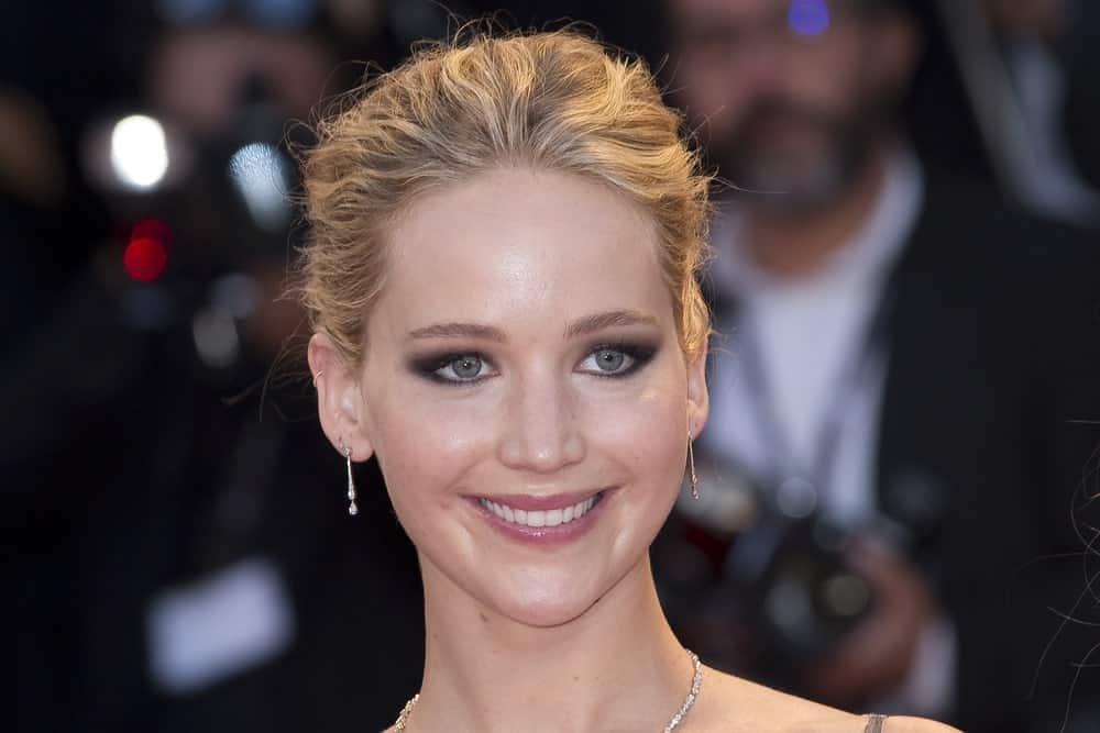 Jennifer Lawrence close-up