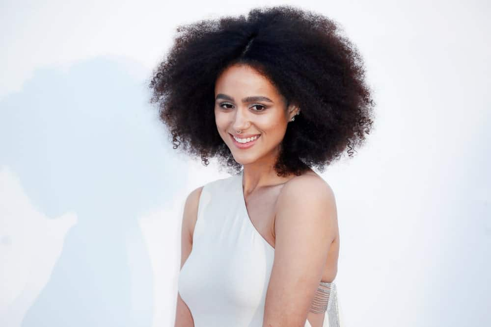 Nathalie Emmanuel looking beautiful as ever
