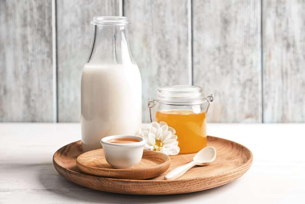 Milk and honey pedicure