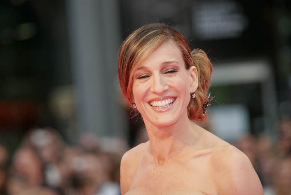 Sarah Jessica Parker at German premiere Sex and the City movie in 2008 in Berlin Germany