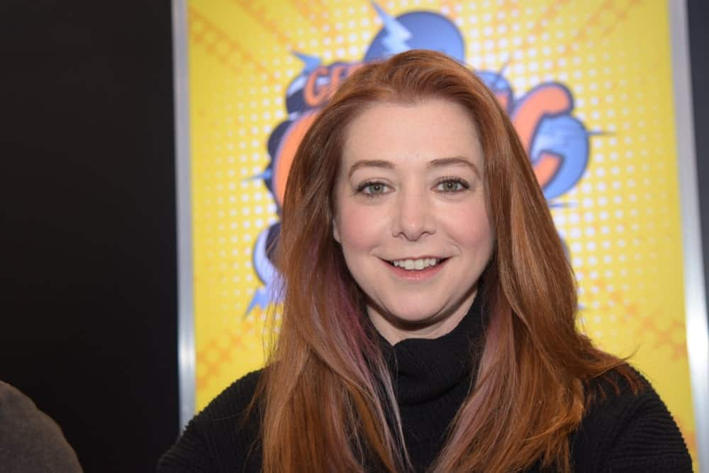 US Actress Alyson Hannigan (* 1974, Buffy The Vampire Slayer, Angel, How I Met Your Mother, American Pie) at German Comic Con Dortmund.