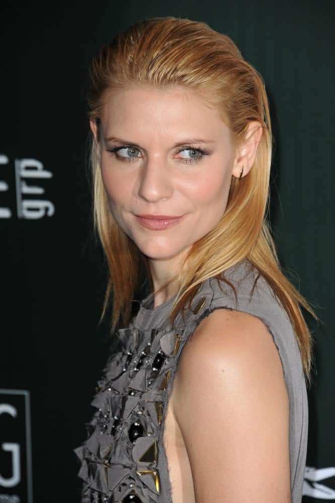 Claire Danes at the 13th Annual Costume Designers Guild Awards at the Beverly Hilton Hotel. February 22, 2011 Beverly Hills, CA.