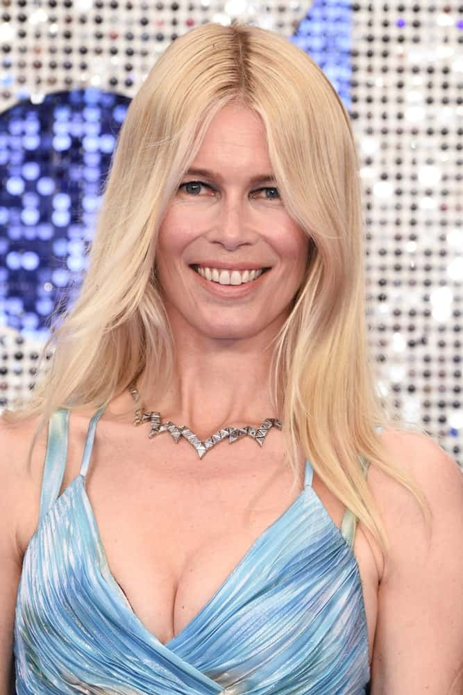 Claudia Schiffer arriving for the