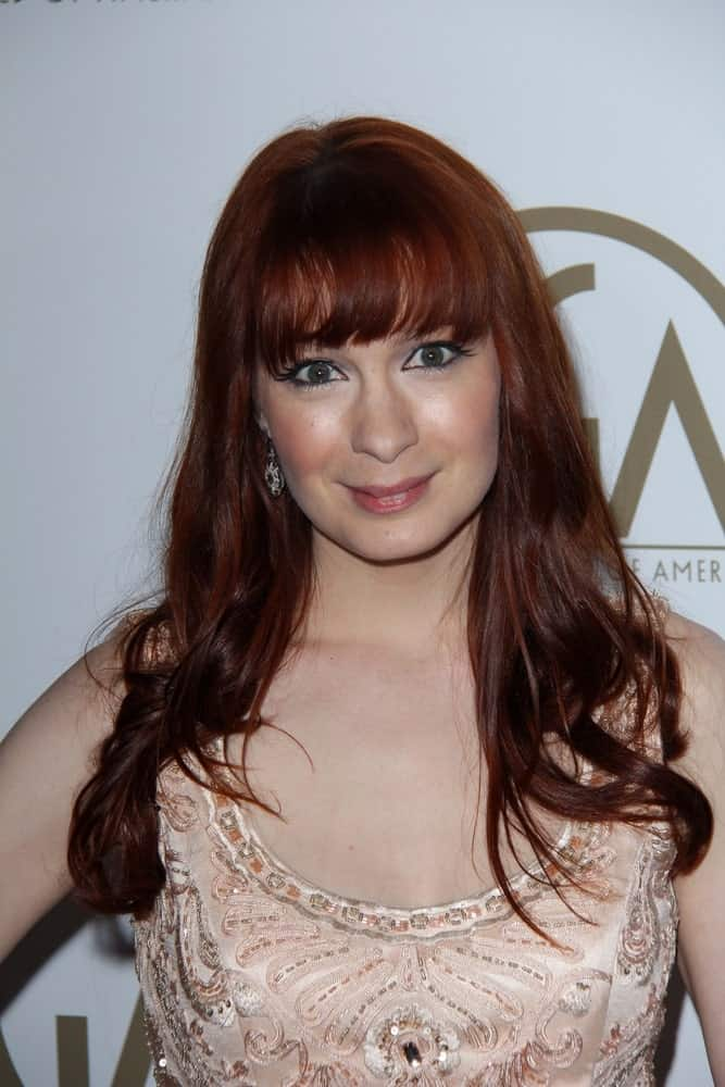Felicia Day at the 24th Annual Producers Guild Awards, Beverly Hilton, Beverly Hills, CA.