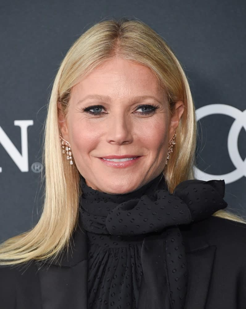 Gwyneth Paltrow arrives for the