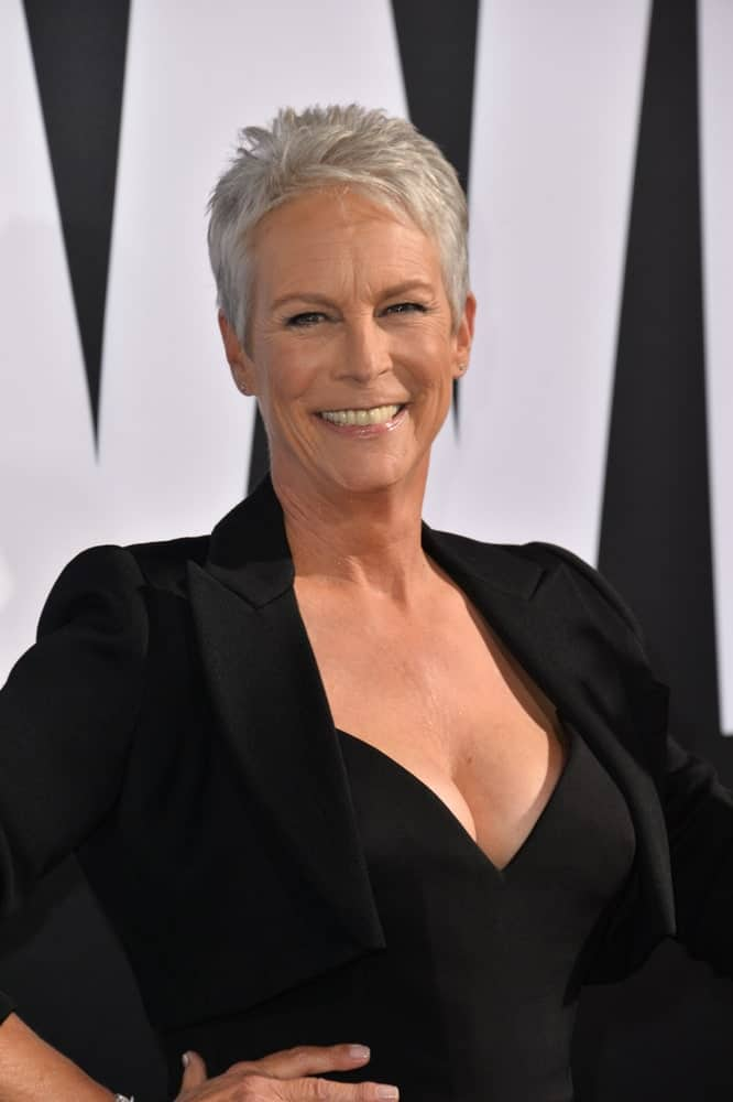 Jamie Lee Curtis at the premiere for