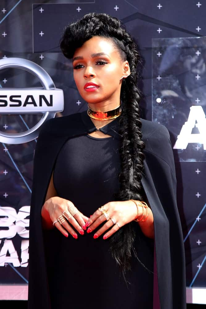 Janelle Monae at the 2015 BET Awards - Arrivals at the Microsoft Theater on June 28, 2015 in Los Angeles, CA.
