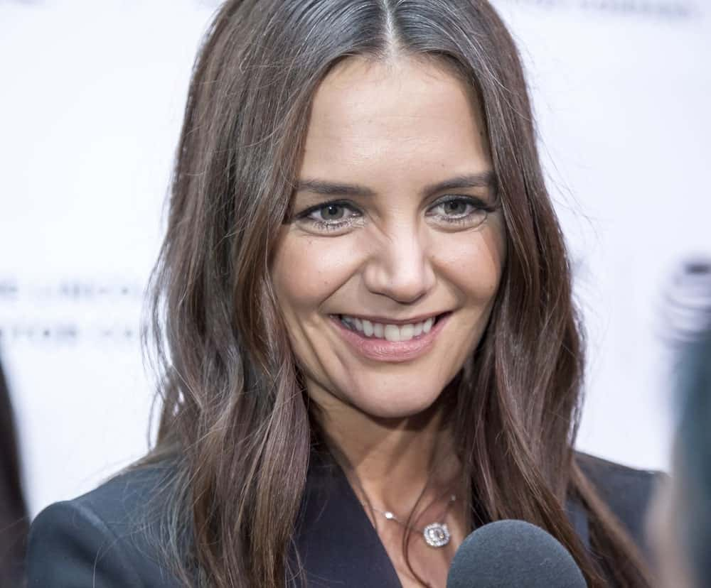 Actress, director Katie Holmes attends the 'All We Had' premiere during the 2016 Tribeca Film Festivalat at the John Zuccotti Theater at BMCC Tribeca PAC.