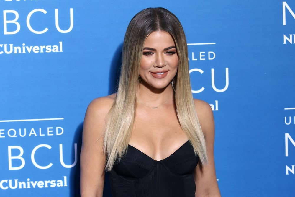 Khloe Kardashian attends the 2017 NBCUniversal Upfront on May 15, 2017, in New York.