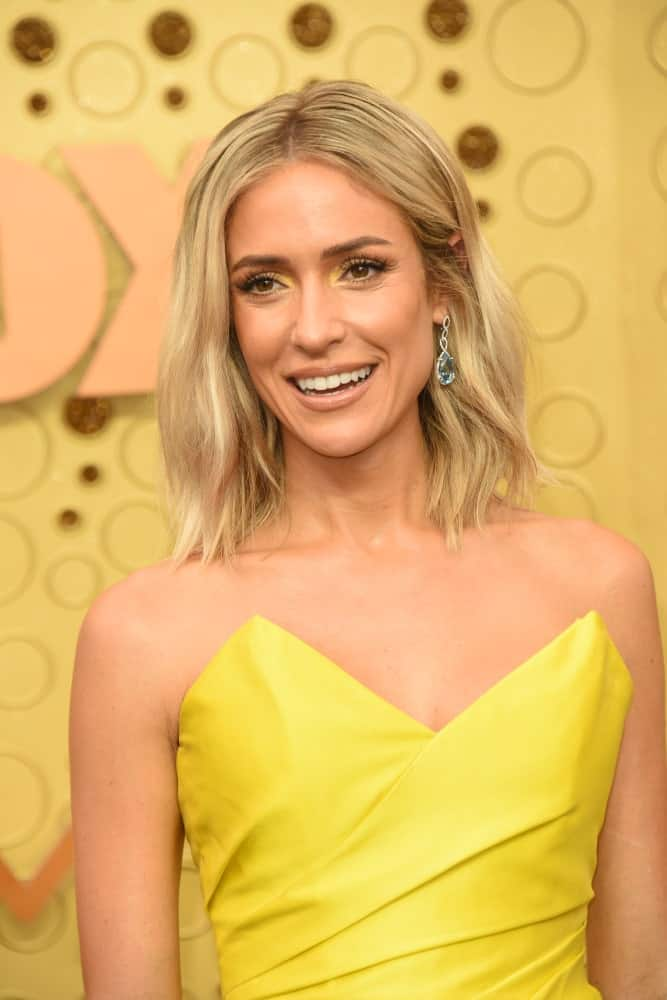 Kristin Cavallari at the Primetime Emmy Awards - Arrivals at the Microsoft Theater on September 22, 2019 in Los Angeles, CA
