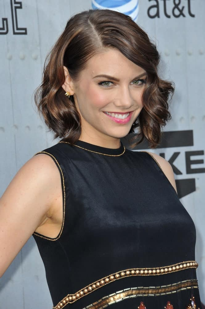 Lauren Cohan at Spike TV's 2014 Guys Choice Awards at Sony Studios, Culver City.