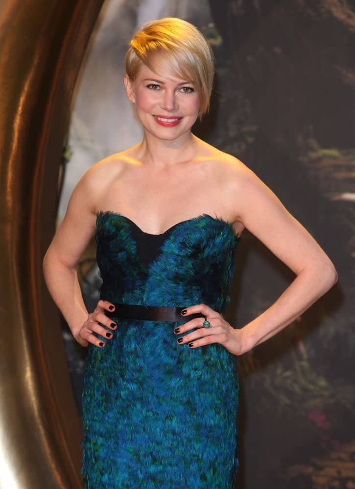 Michelle Williams arriving for the UK Premiere of 'Oz, The Great And The Powerful', Empire Leicester Square, London.