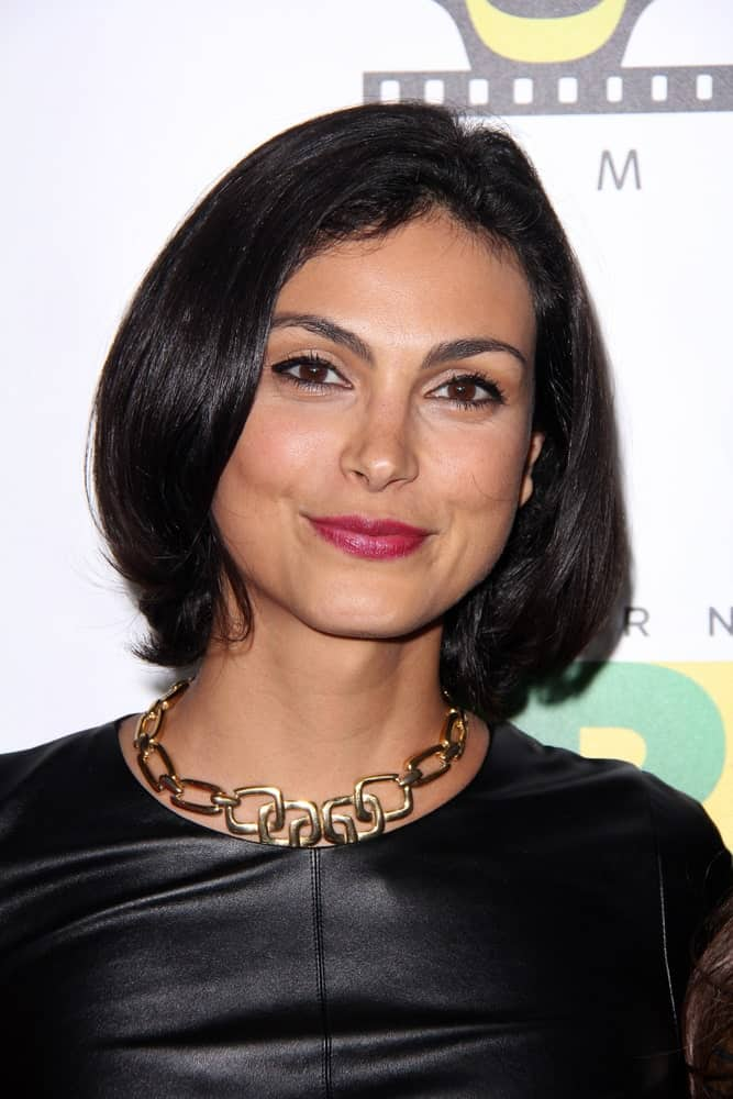 Morena Baccarin at the 6th Annual Hollywood Brazilian Film Festival Opening Night at the Montalban Theater on November 21, 2014 in Los Angeles, CA.