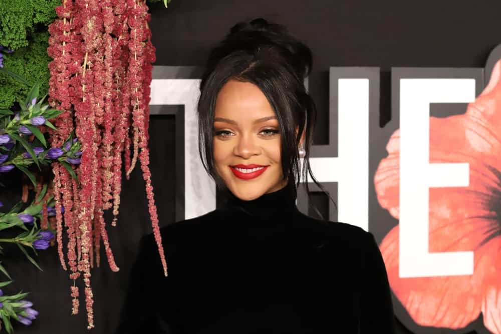 Rihanna attends the 5th annual Diamond Ball at Cipriani on September 12, 2019, in New York City.