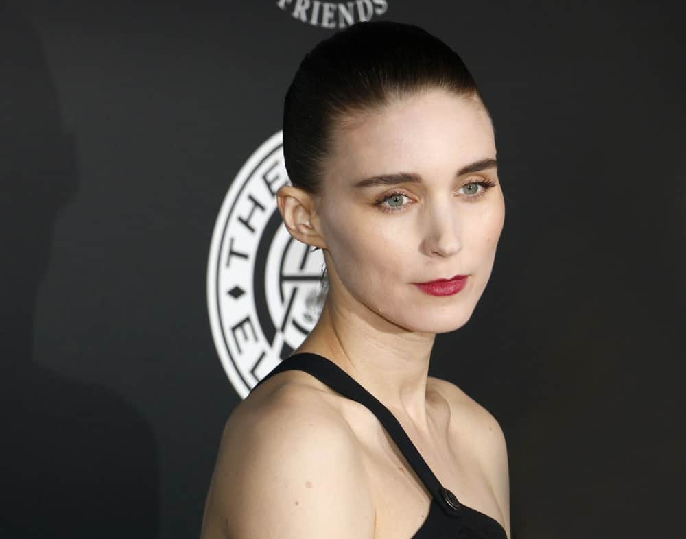 Rooney Mara at the Art Of Elysium's 11th Annual Heaven Celebration held at the Barker Hangar in Santa Monica, USA on January 6, 2018.