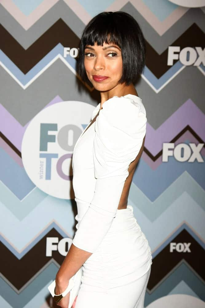 Tamara Taylor attends the FOX TV 2013 TCA Winter Press Tour at Langham Huntington Hotel on January 8, 2013 in Pasadena, CA.