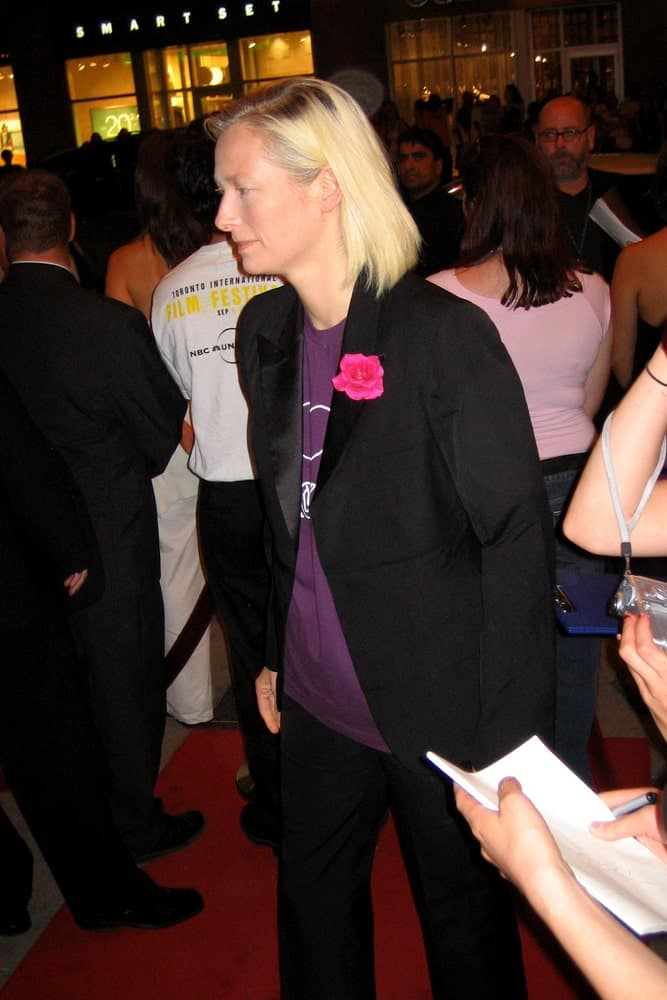 Tilda Swinton at the Toronto Film Festival.