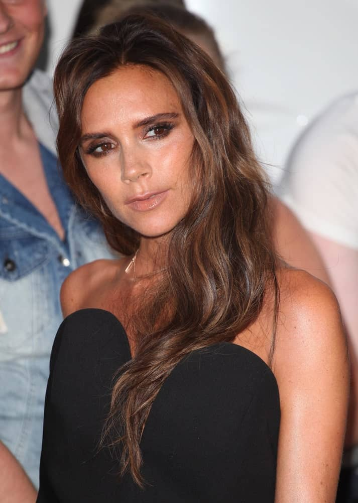Victoria Beckham arriving for the 2013 Glamour Awards, Berkeley Square, London.