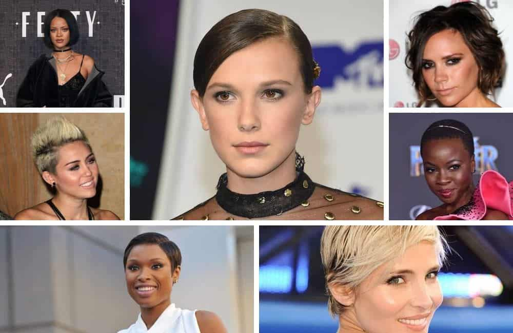 Celebrity women who went from long to short hairstyles