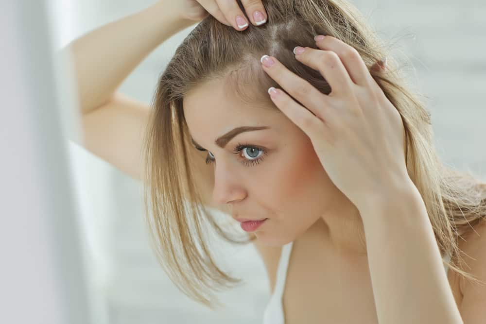 Overstressed hair damage