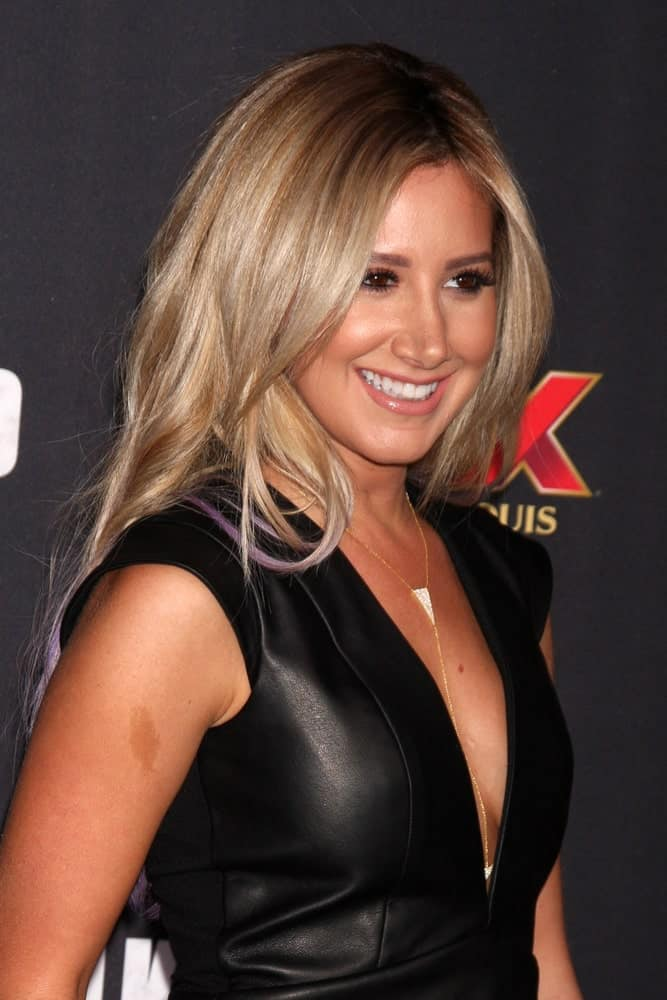 Ashley Tisdale looked ravishing at the