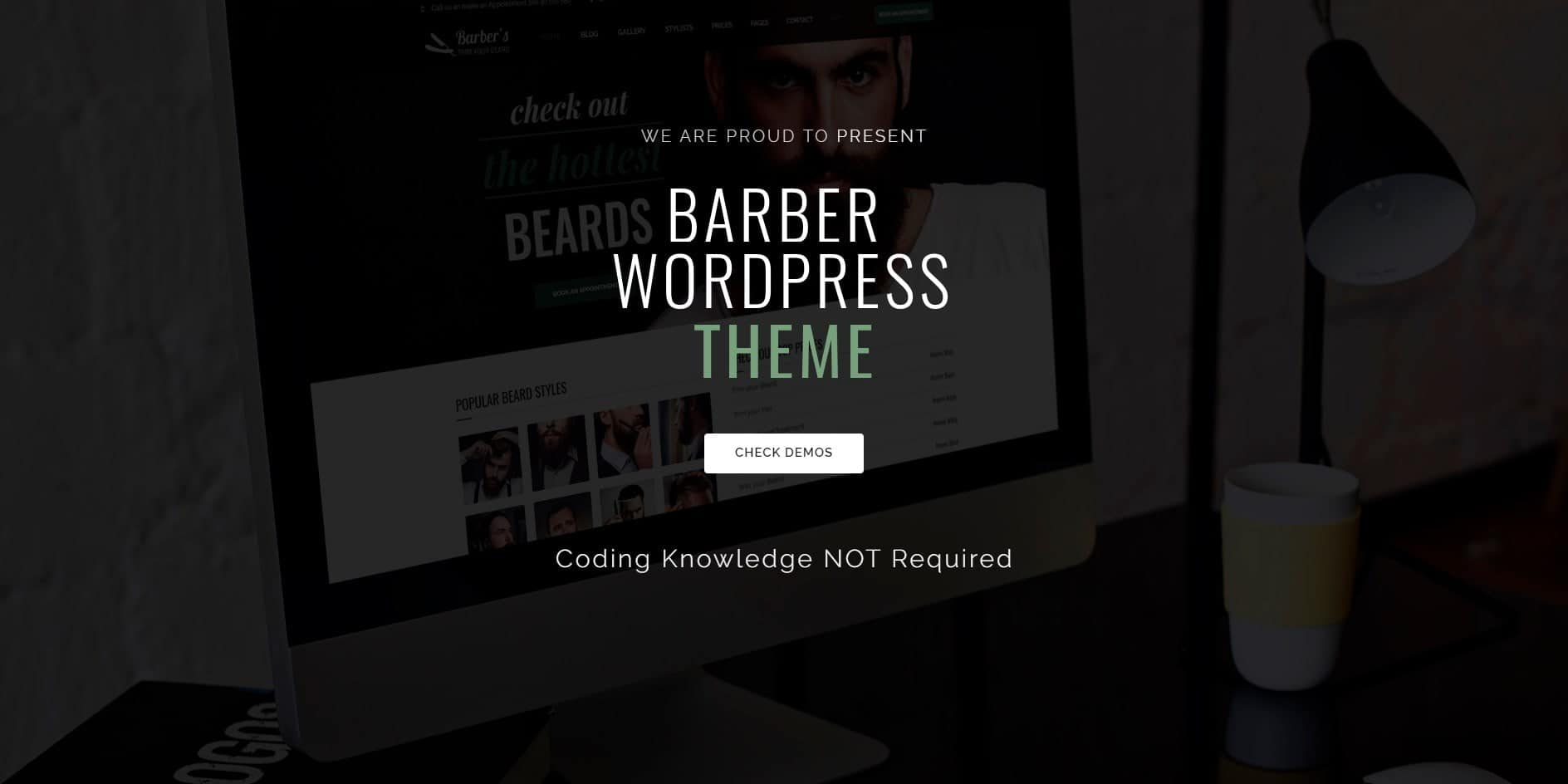 Barber Word Press Theme