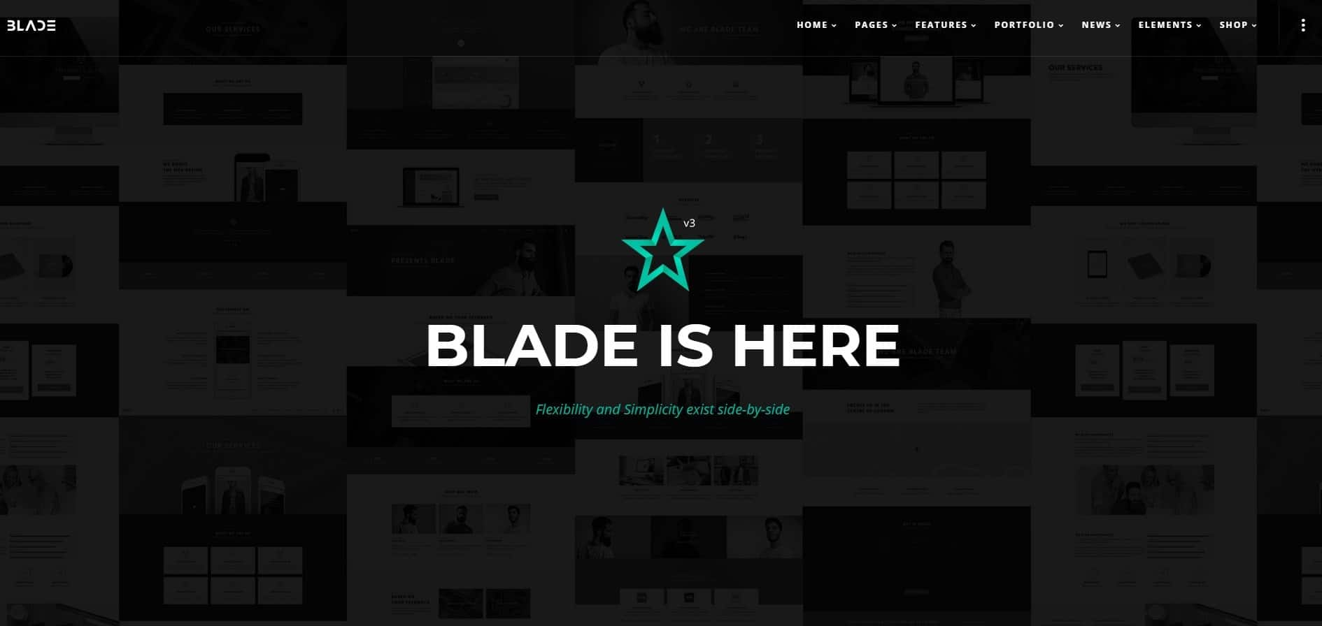 Blade Word Press Theme