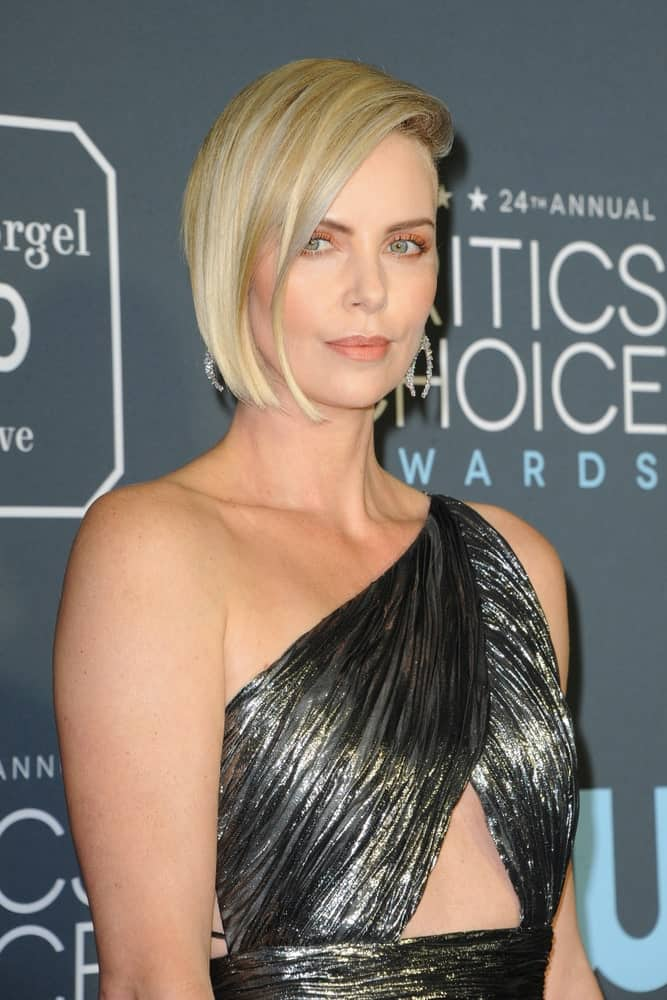 The actress unleashed the inner goddess in her with a stunning one-shoulder dress and her blonde bob brushed on the side inwardly. This was taken at the 24th Annual Critics' Choice Awards held on January 13, 2019.