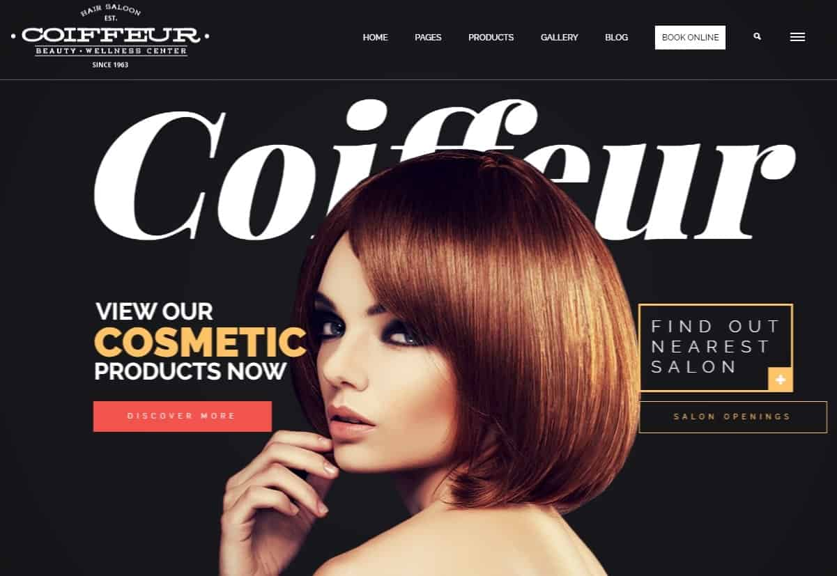 Coiffeur Word Press Theme