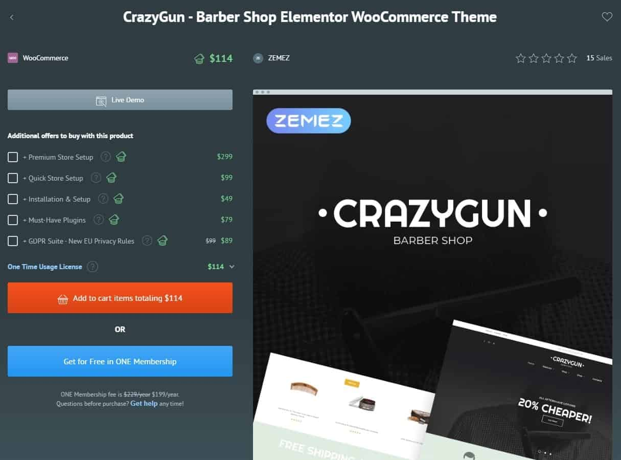 CrazyGun Word Press Theme