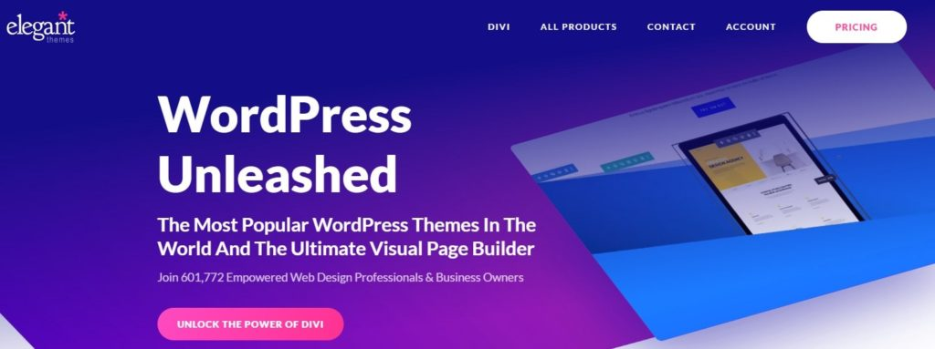 Divi Word Press Theme