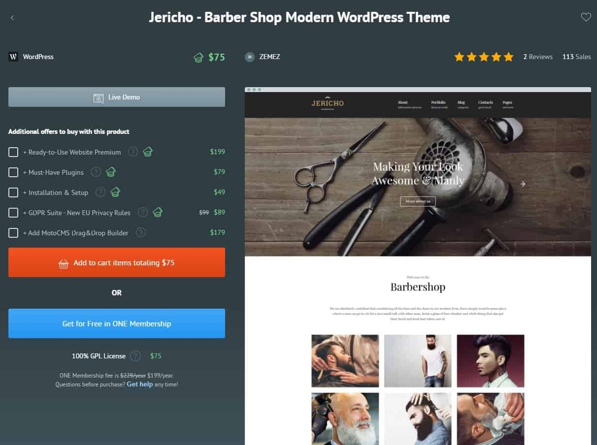 Jericho Word Press Theme