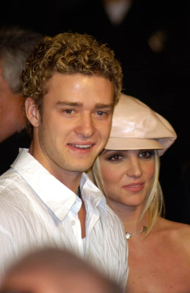 Justin Timberlake spotted with Britney Spears in Hollywood, two days before Valentines on 2002.